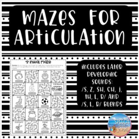 Mazes For Articulation